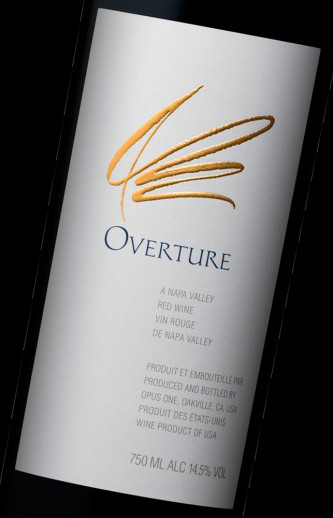 Overture d'Opus One Napa Valley Californie
